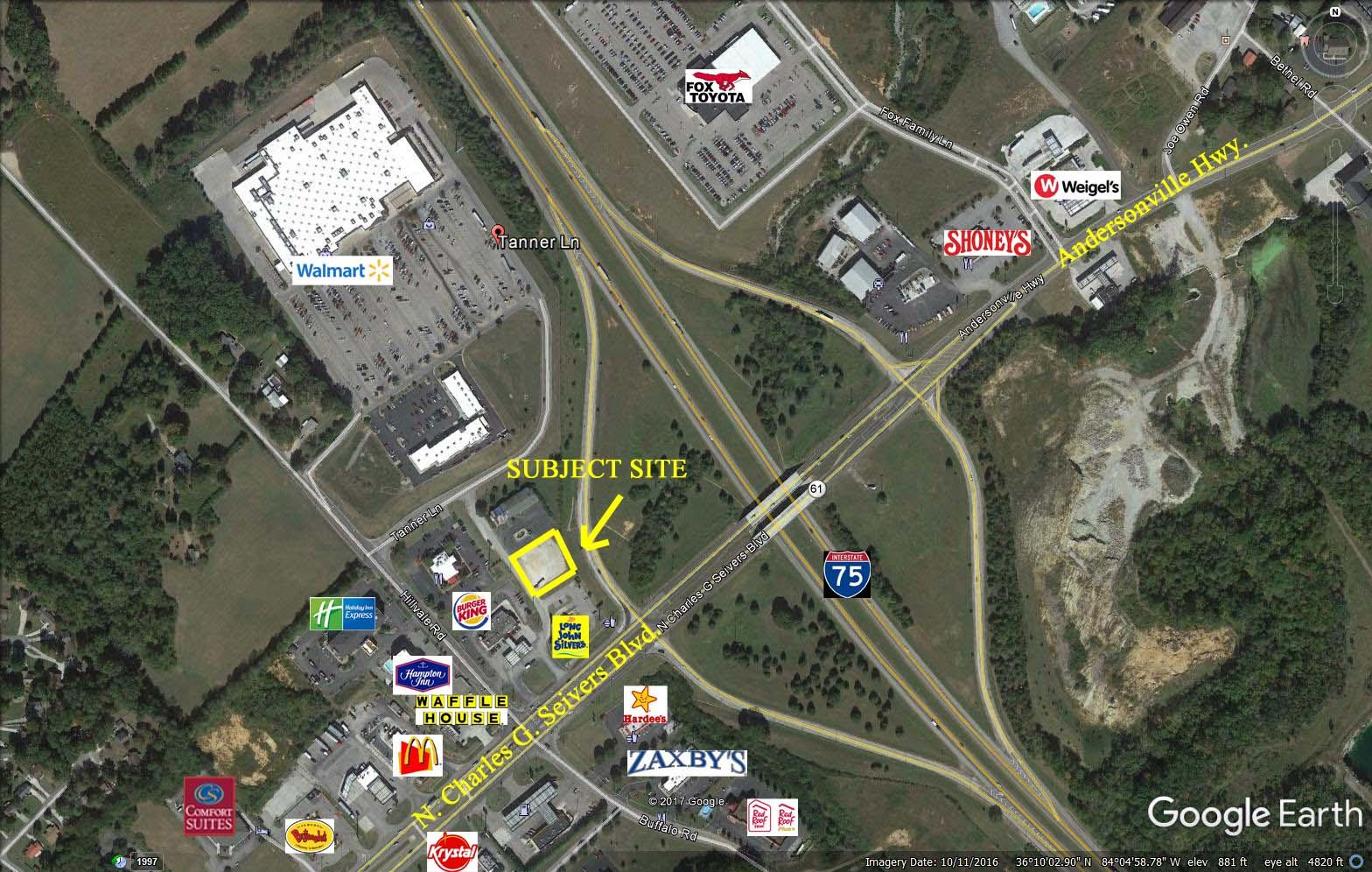 Clinton Interchange/I 75 Clinton, Tennessee
